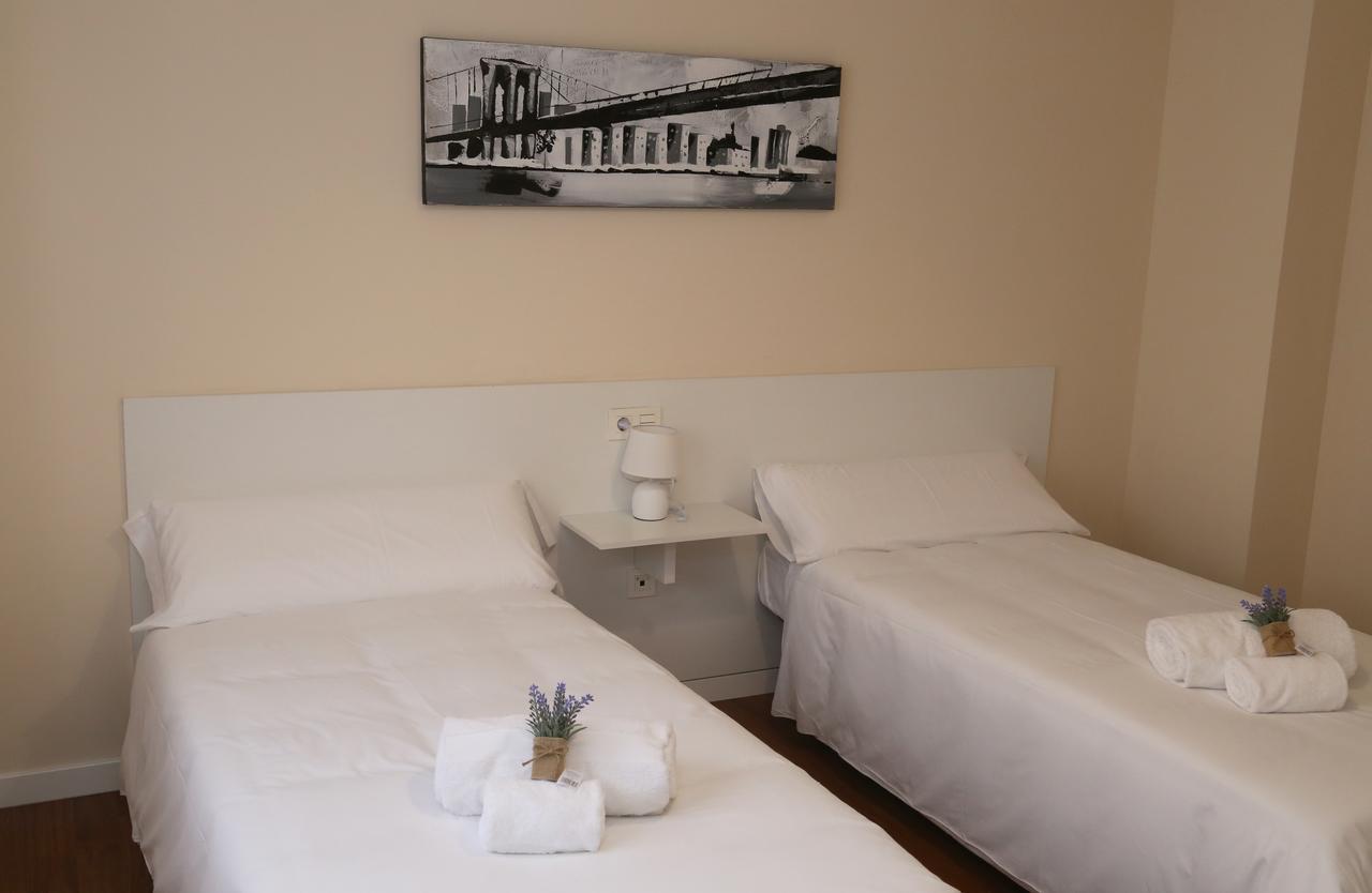 Dormitorio del apartamento Casa Lis en Salamanca