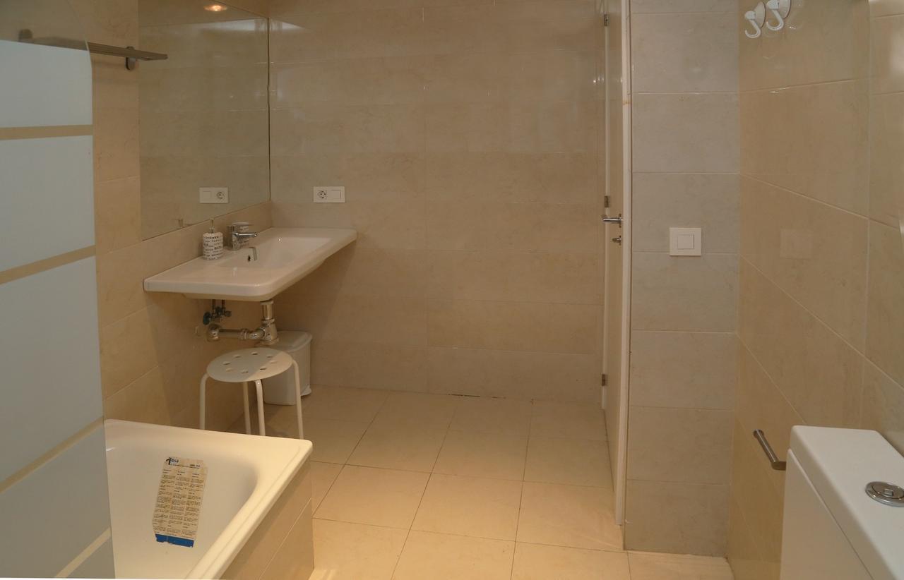 Baño completo del apartamento Casa Lis en Salamanca