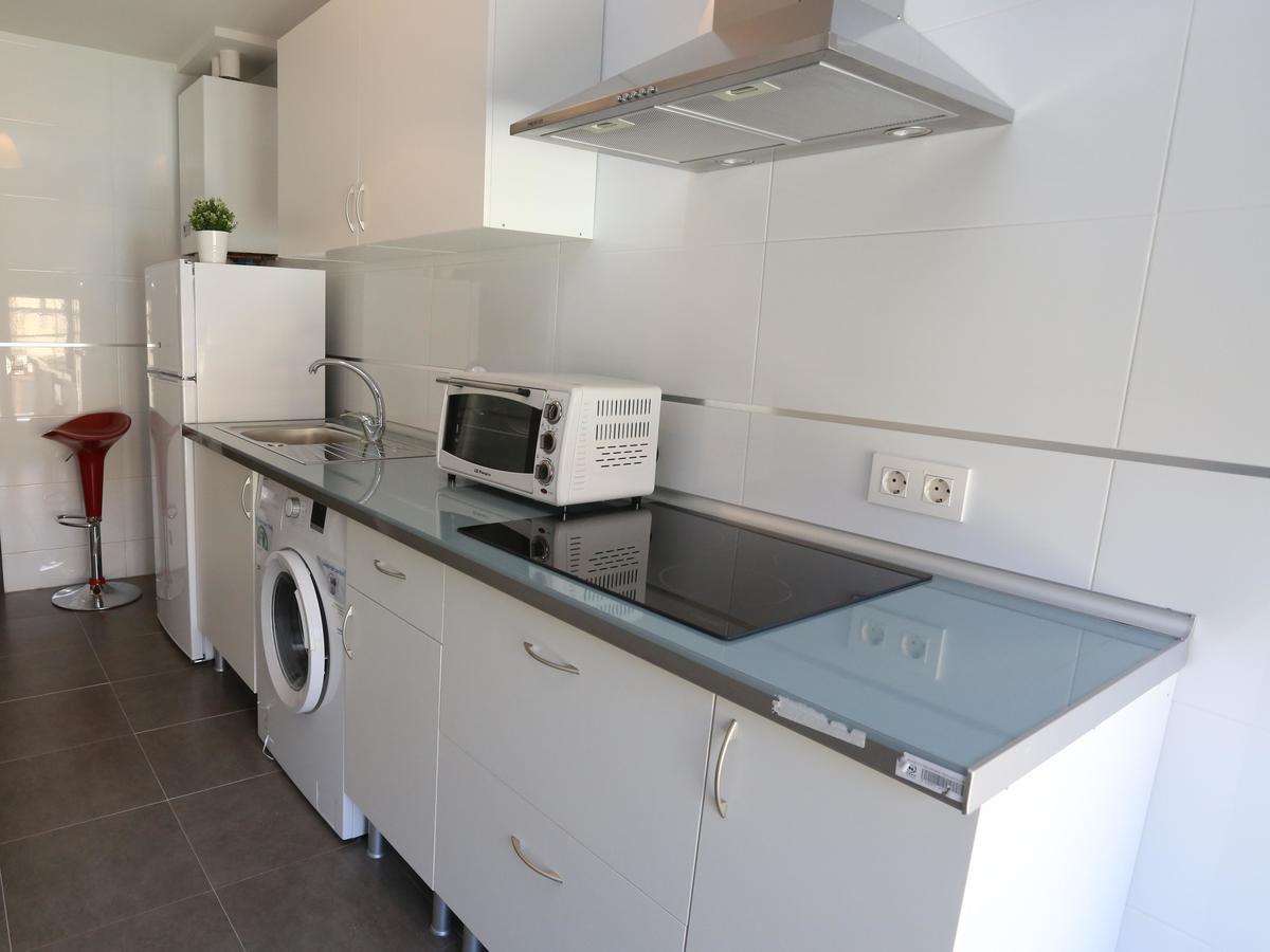 Cocina del apartamento Río Tormes en Salamanca