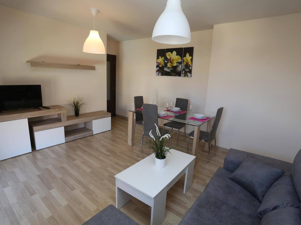 Salón en el apartamento Río Tormes en Salamanca