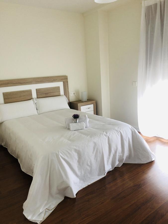 Dormitorio del apartamento Río Tormes en Salamanca