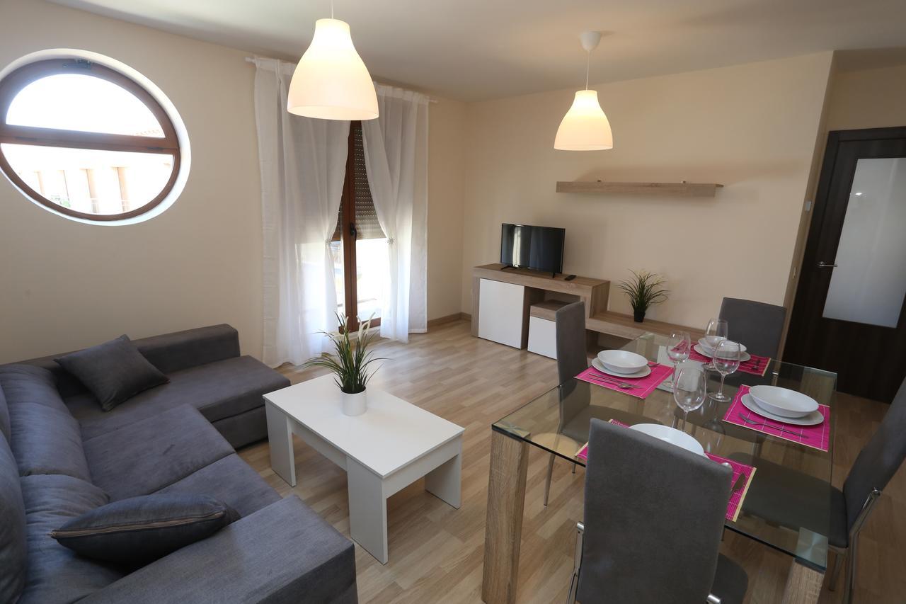 Salón del apartamento Calisto y Melibea en Salamanca