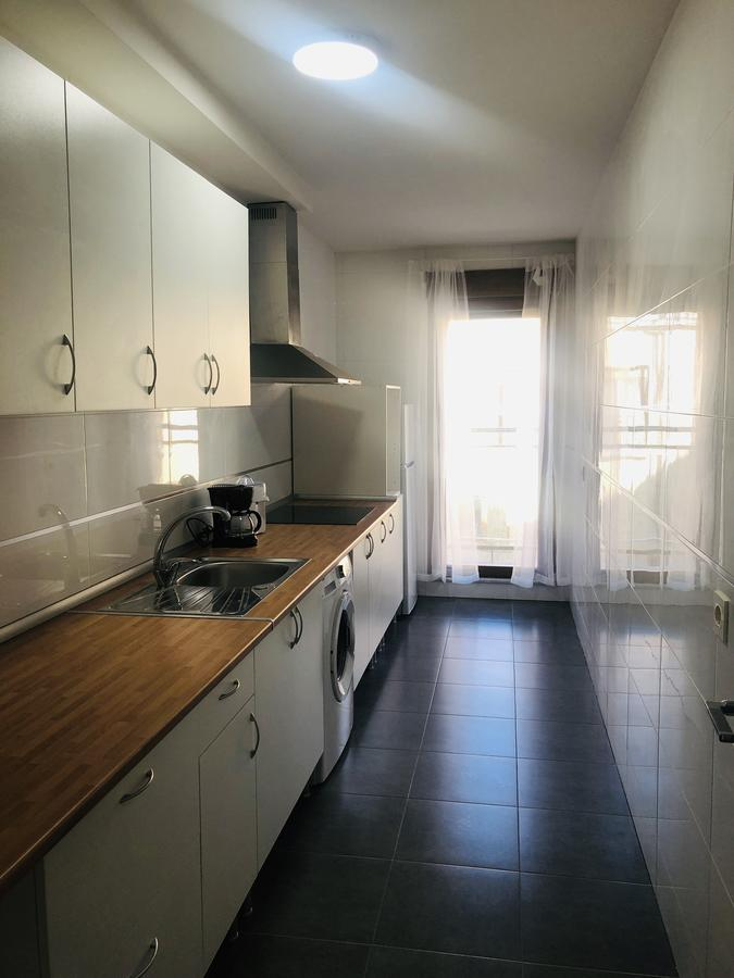 Cocina del apartamento Abraham Zacut en Salamanca
