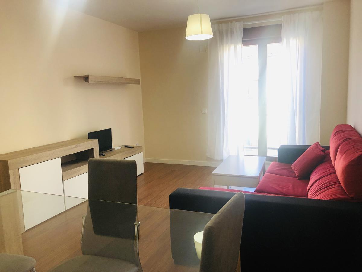 Salón del apartamento Abraham Zacut en Salamanca