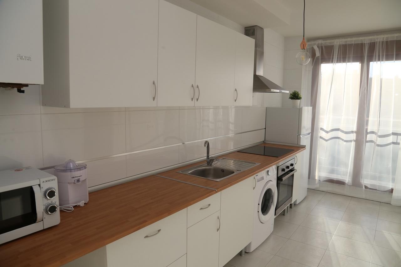 Cocina del apartamento La Rua en Salamanca