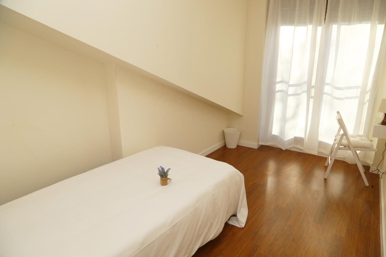Dormitorio del apartamento La Rua en Salamanca