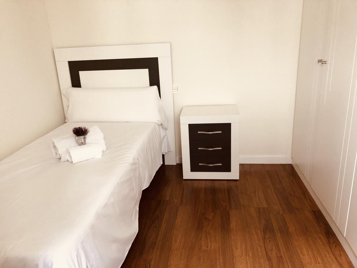 Dormitorio del apartamento Lazarillo de Tormes en Salamanca