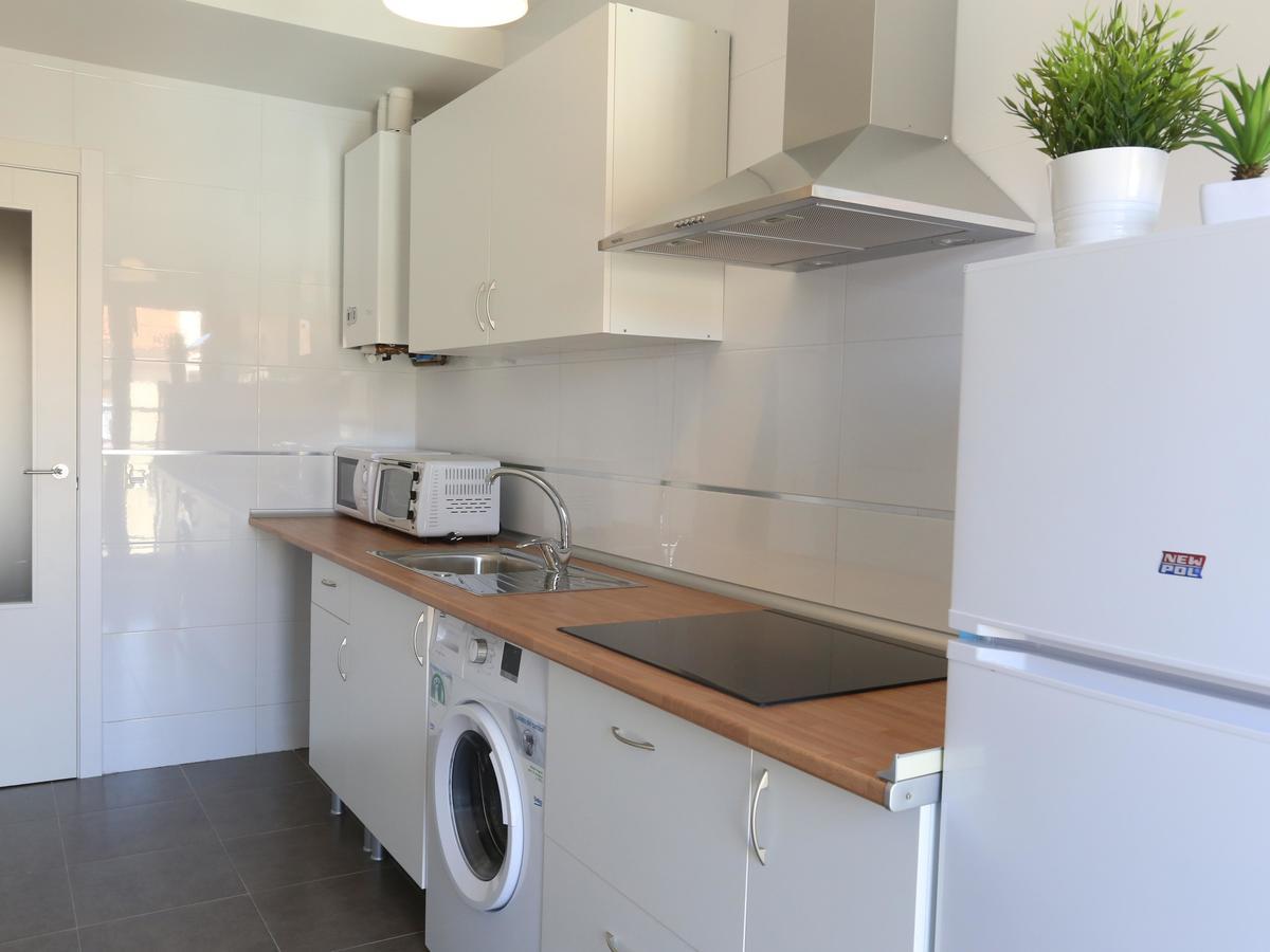 Cocina del apartamento La Latina en Salamanca