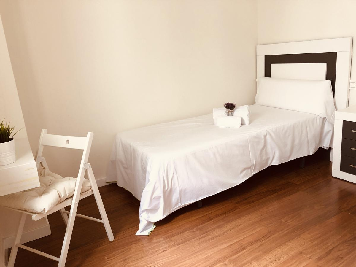 Dormitorio del apartamento La Latina en Salamanca