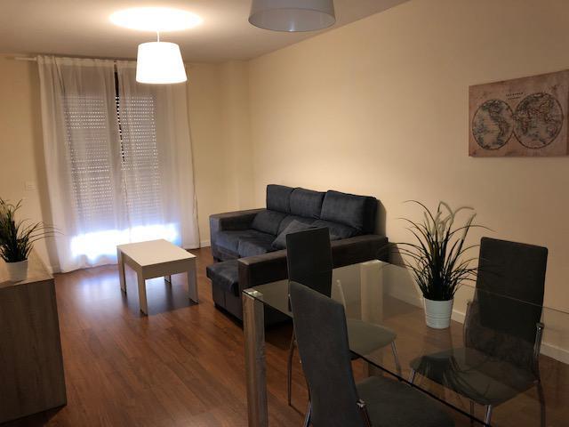 Salón en el apartamento Pontifia en Salamanca
