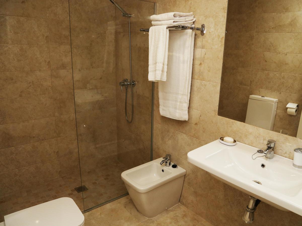 Baño completo del apartamento Pontificia en Salamanca