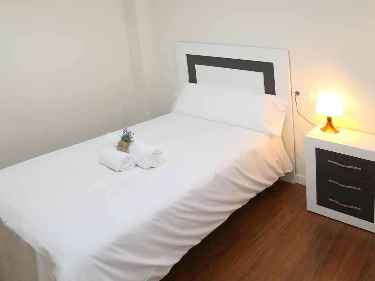 Dormitorio del apartamento Pontificia en Salamanca