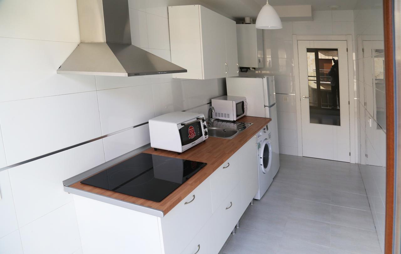 Cocina del apartamento Pontifica en Salamanca